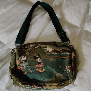Vintage Mickey and Mini canvas bag
